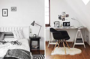 Интерьер: минималистичная комната в загородном доме