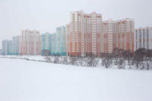 Спальные районы Москвы в объективе Паскаль Базир