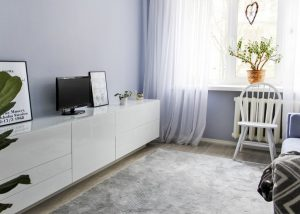 Скандинавская квартира 45 м² в хрущевке для молодой девушки