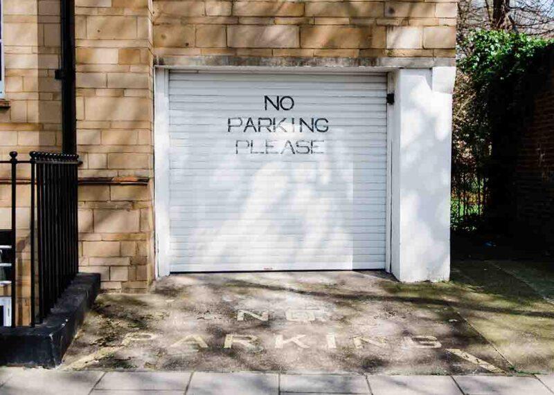 Минимализм в гараже