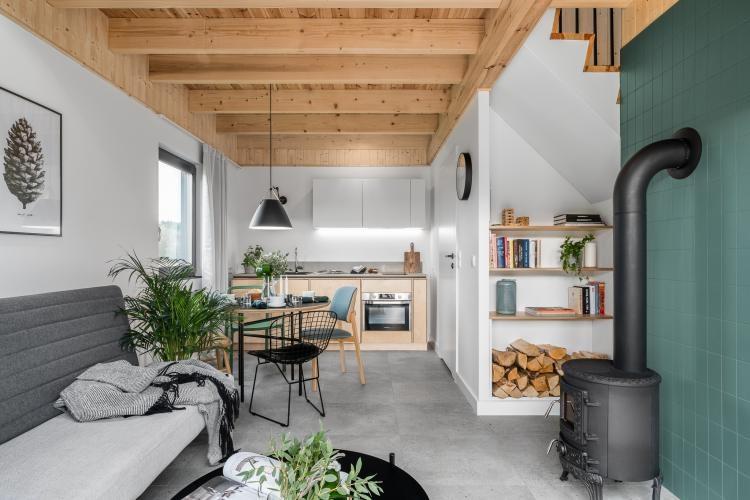 Проект небольшого двухэтажного дома 38 м²