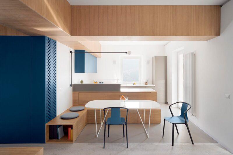 Минималистичная квартира в Италии