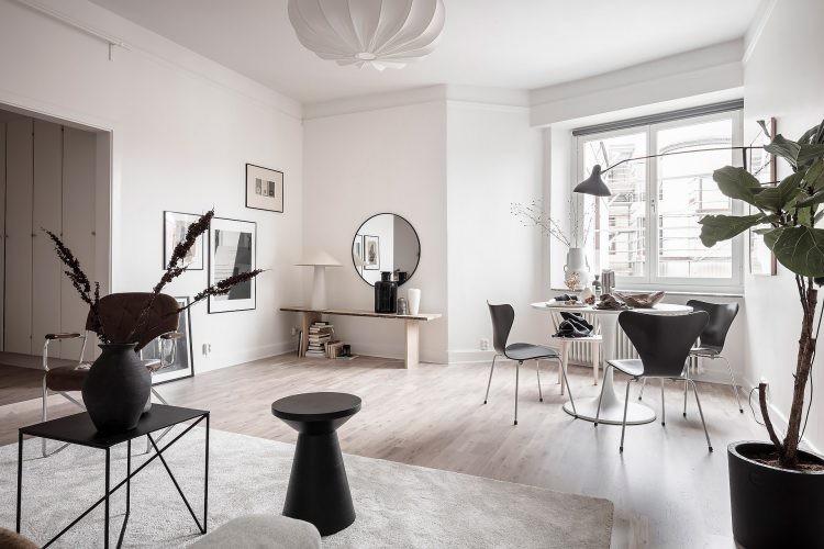 Светлая минималистичная квартира 51м²