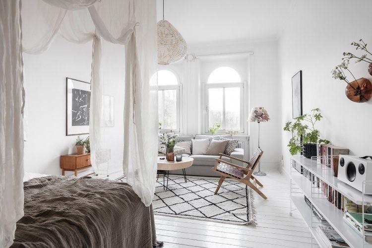 интерьер свкандинавской квартиры