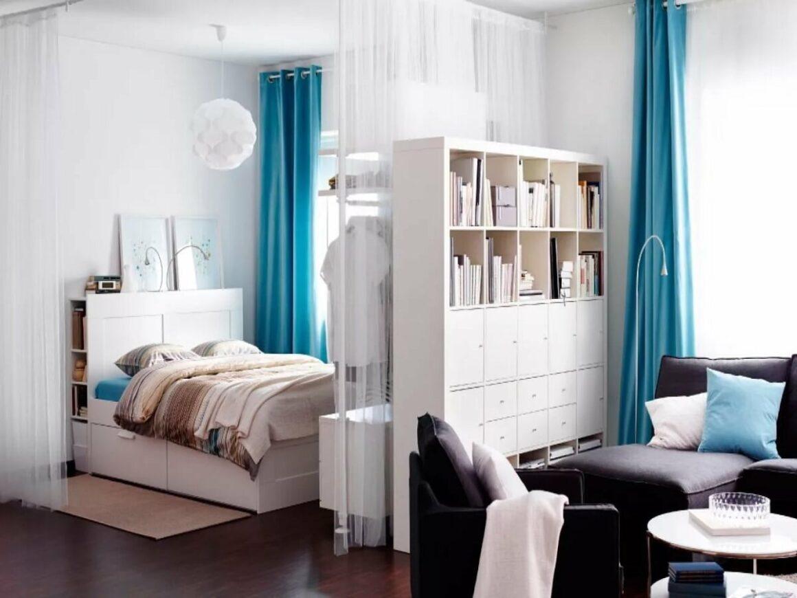 Стильный интерьер маленькой квартиры: 8 приёмов
