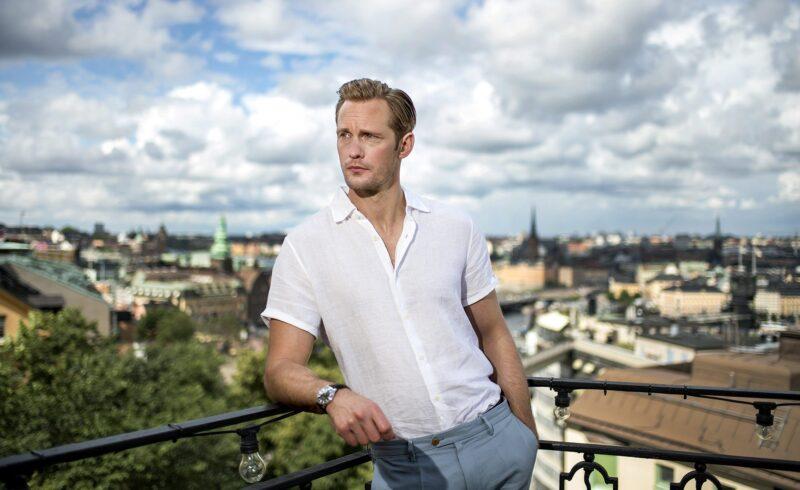 Шведский актёр Александр Скарсгард — минималист?