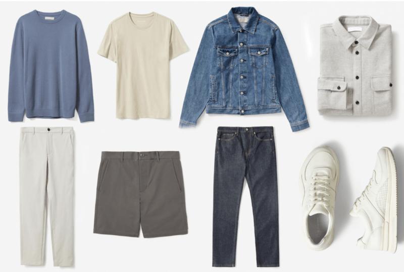 Как создать стильный мужской минималистичный гардероб