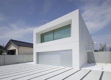 Минималистичный дом в Японии