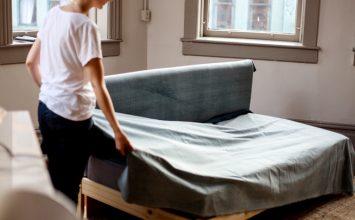 Собираем минималистичный диван
