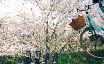 На велосипеде в минимализм