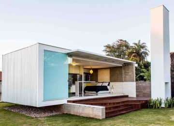 Современный домик 45 м² в Бразилии
