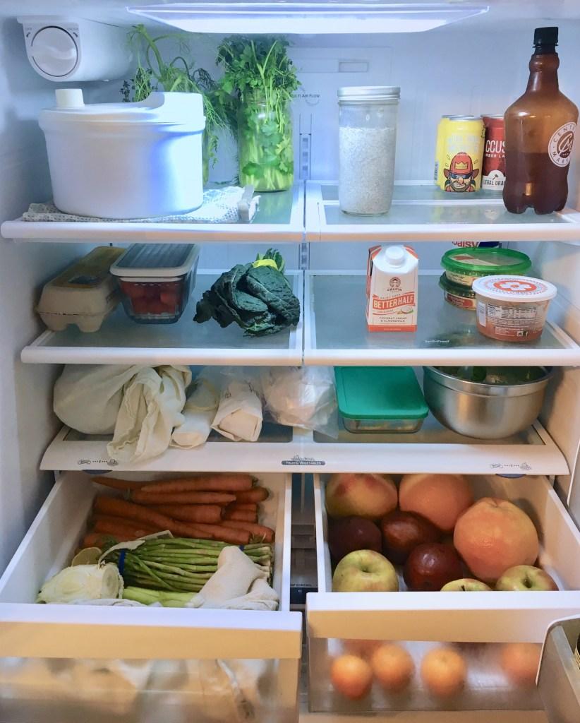 Холодильник и кладовая без мусора
